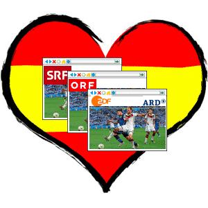 Deutsches TV in Spanien sehen!