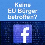 Facebook-Manager im EU-Parlament: Keine Weitergabe von Daten europäischer User