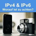 IPv4 und IPv6 Vergleich