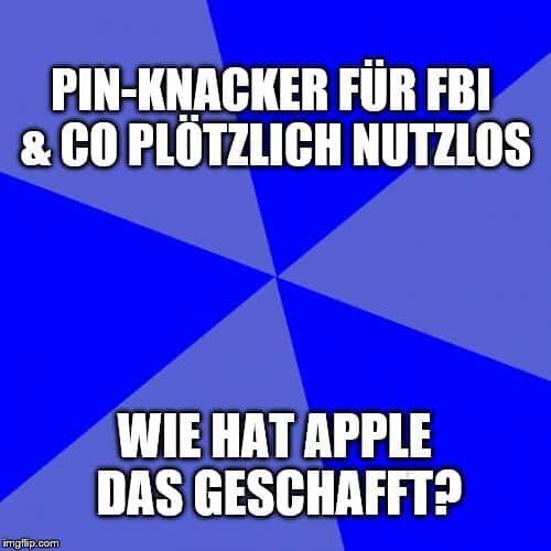 Neues iOS Update: Apple macht FBI & Co mit dem Blocken von GrayKey einen Strich durch Rechnung 1