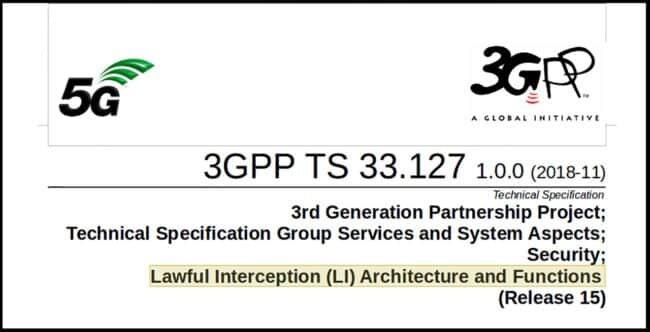5G Überwachungsstandards - Konzeption Präsentation