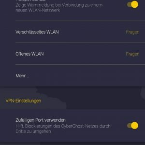 Screenshot   CyberGhost