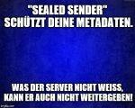 Sealed Sender
