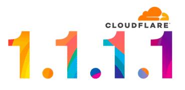 Cloudflare DNS 1.1.1.1 Logo
