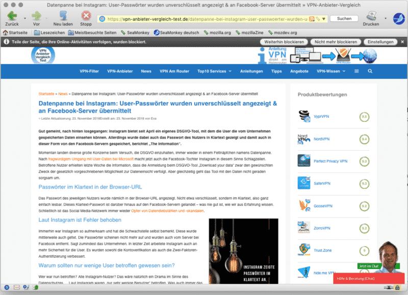 SeaMonkey Browser