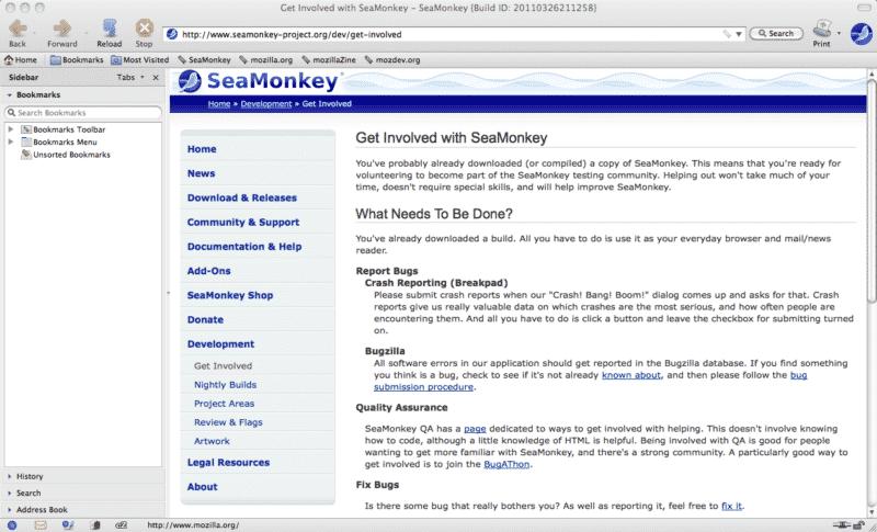 SeaMonkey Browser im Test