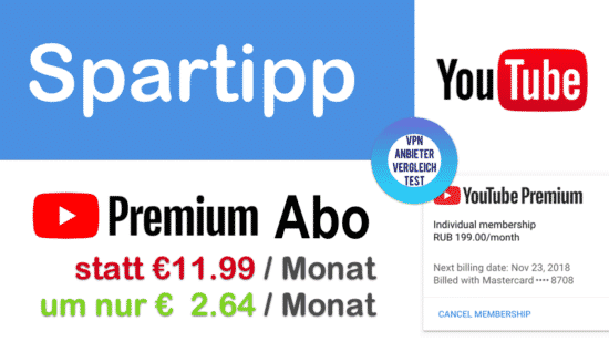 Spartipp: YouTube Premium Abo deutlich billiger kaufen!