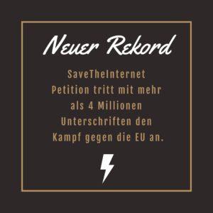 Urheberrechts-reform: Bereits 4 Millionen Unterschriften gegen Uploadfilter & Co 2