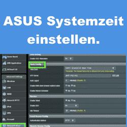 Anleitung: ASUS Router Systemzeit einstellen
