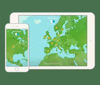 Tunnelbear VPN für iPad und iPhone Geräte