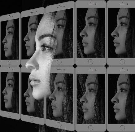 Gesicht Handy pixabay