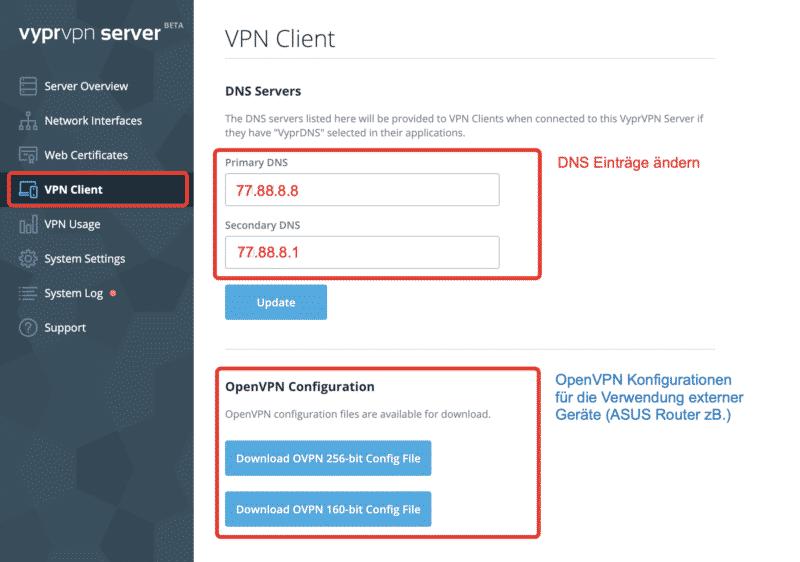 Eigener VPN Server mit VyprVPN einrichten (Anleitung) 15