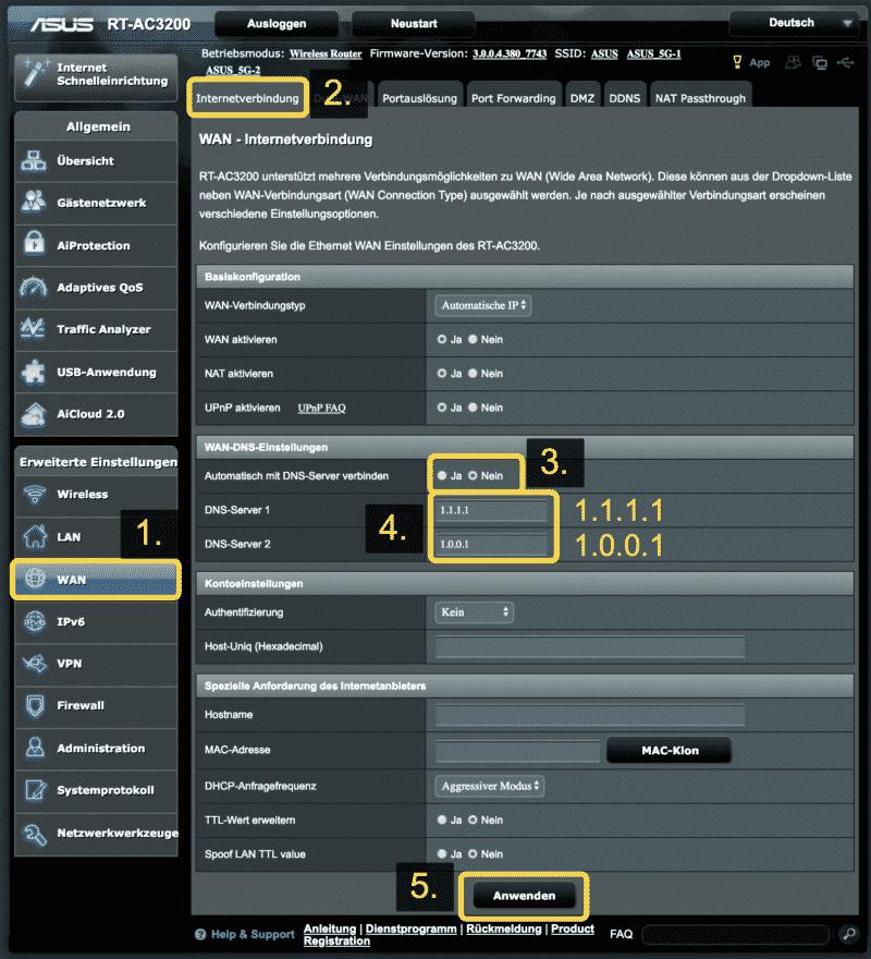 Anleitung: Trust.Zone VPN auf einem ASUS Router einrichten. (Kostenlos testen) 6