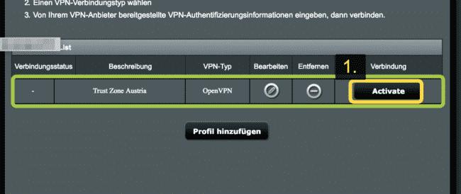 trust zone vpn auf asus router einrichten
