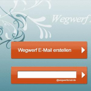 Wegwerf-E-Mail