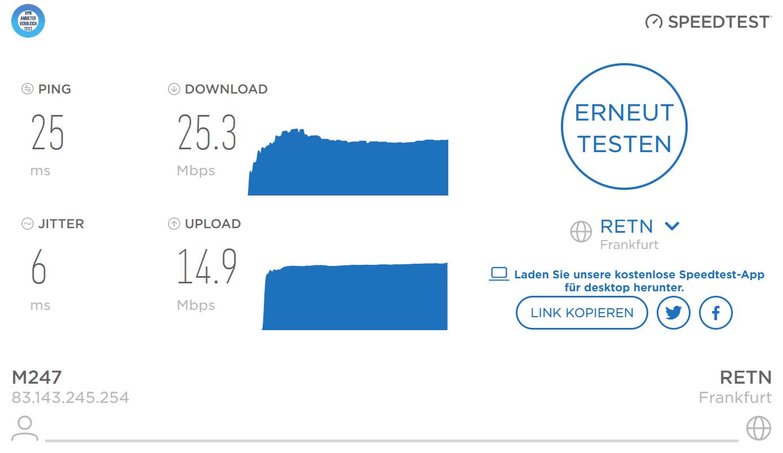 FastestVPN Speedtest 2021