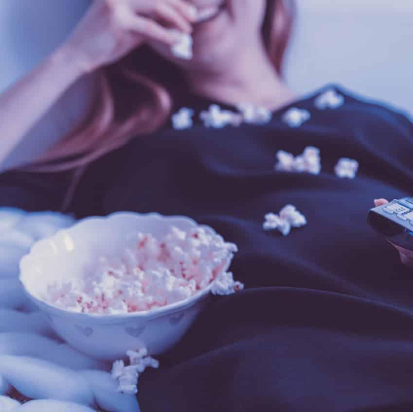Popcorn TV pixabay