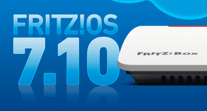 Fritzbox Router-Betriebssystems FRITZ!OS 7.10