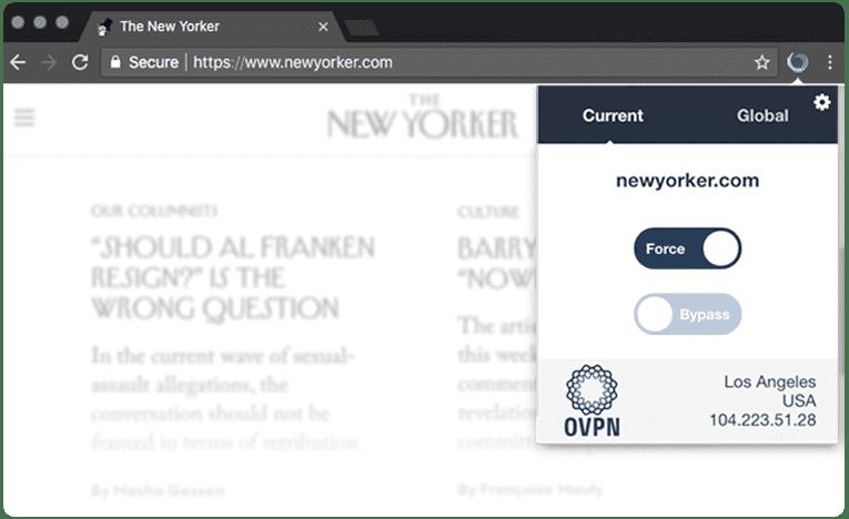 VILFO Browsererweiterung