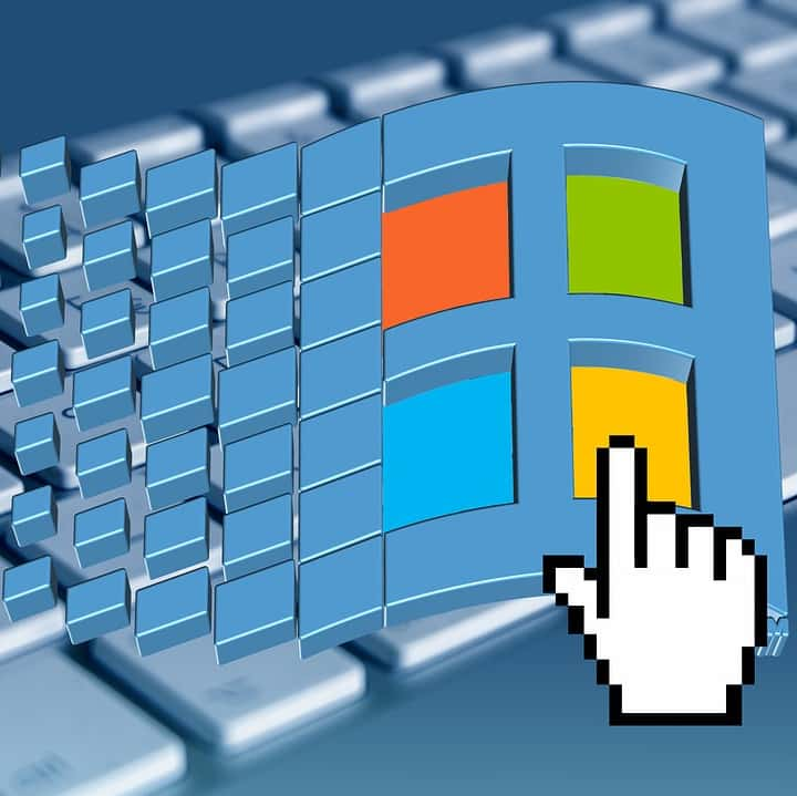 Windows Logo Tastatur pixabay