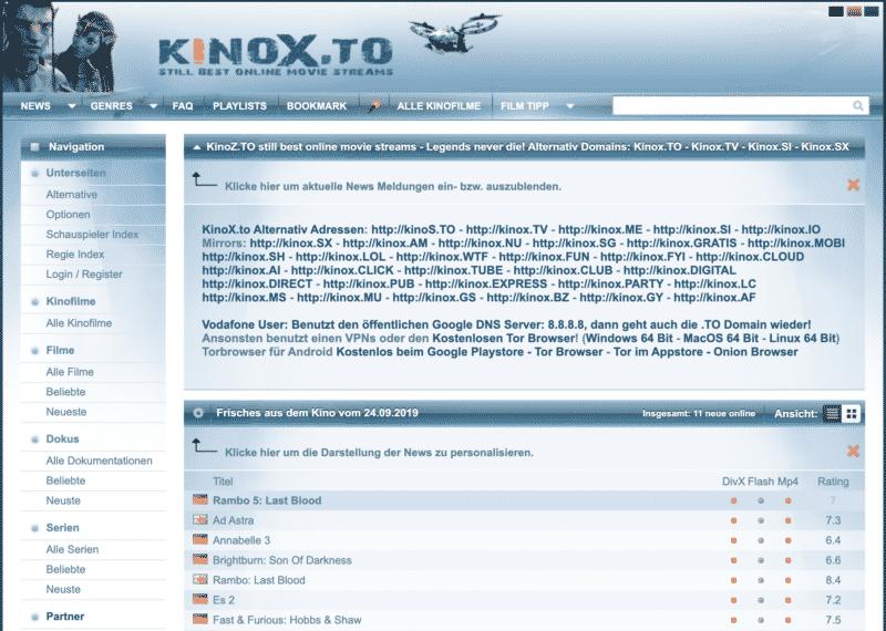 www.kinox to.de kostenlos