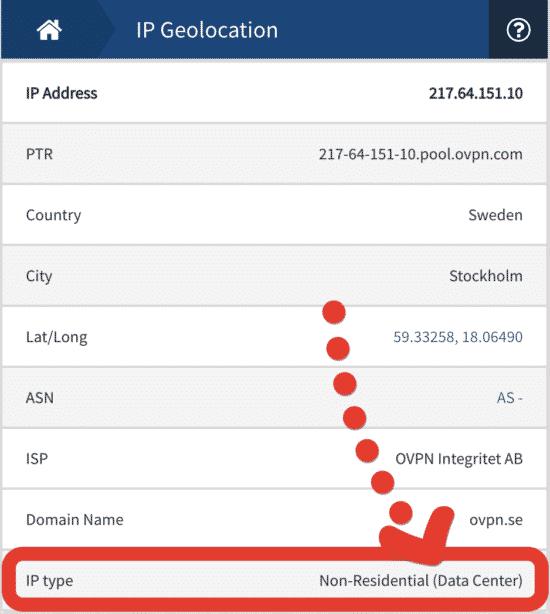 IP Adressen von VPN-Servern werden blockiert