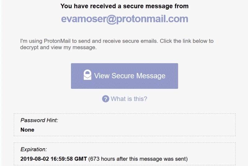 Neuer E-Mail Account mit ProtonMail