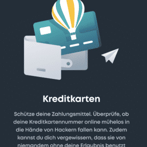 Hack-Lock Suche nach gestohlenen Kreditkarten Daten