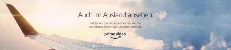 Amazon Videos auch im Ausland verfügbar