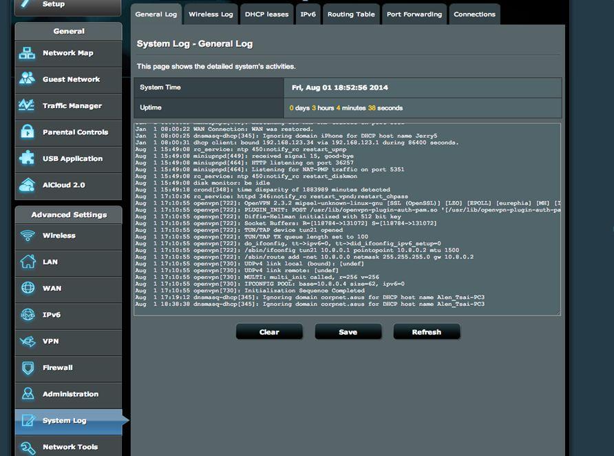 ASUS Router OpenVPN Server einrichten 07