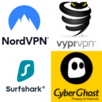 Vergleich: Nordvpn, VyprVPN, Surfshark, CyberGhost