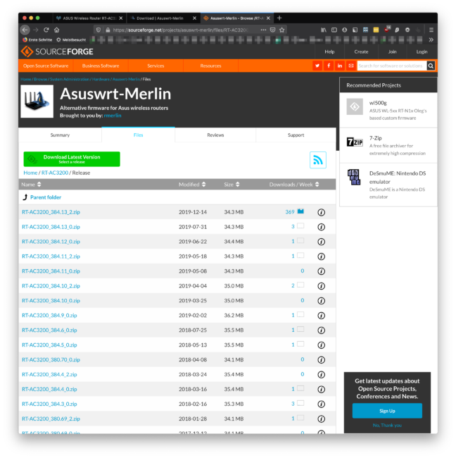 ASUSWRT by Merlin Download