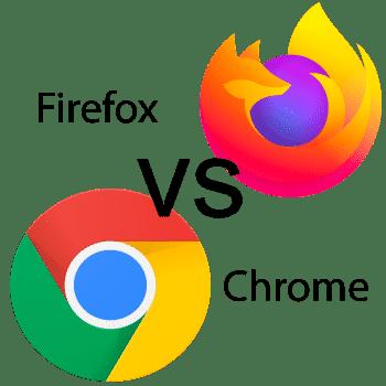 Browser Vergleich Chrome vs Firefox