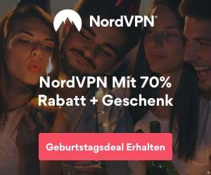 NordVPN Geburtstags-Deal