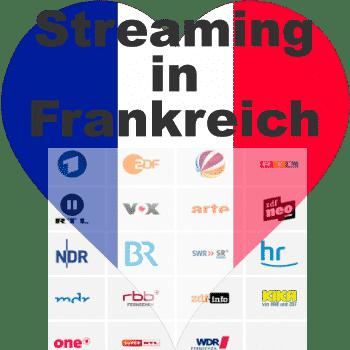 Streaming in Frankreich