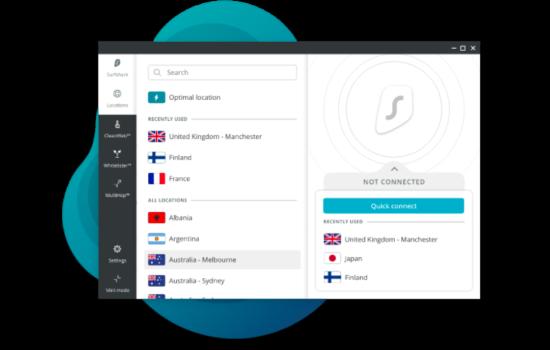 Surfshark bester VPN für Windows