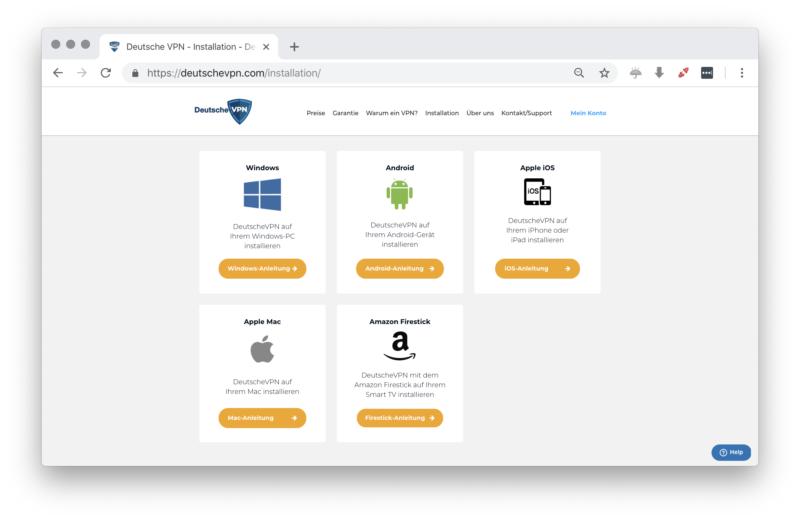 deutschevpn.com - Apps und Anwendungen