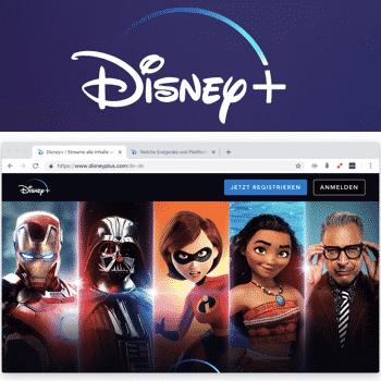 Disney+ im Ausland streamen