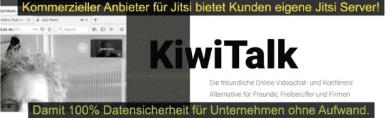 kiwitalk - Jitsi Server für Kunden