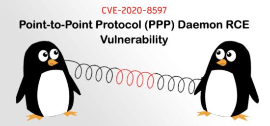Sicherheitslücke PPP CVE-2020-8597