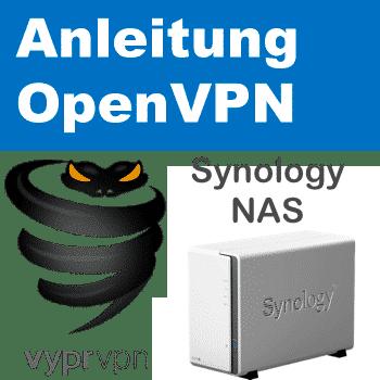 VyprVPN OpenVPN auf Synology NAS einrichten