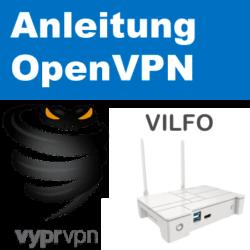 VyprVPN auf Vilfo Router einrichten
