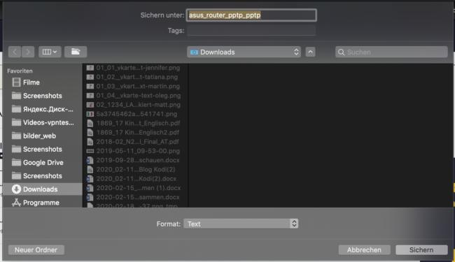 CyberGhost PPTP Zugangsdaten download