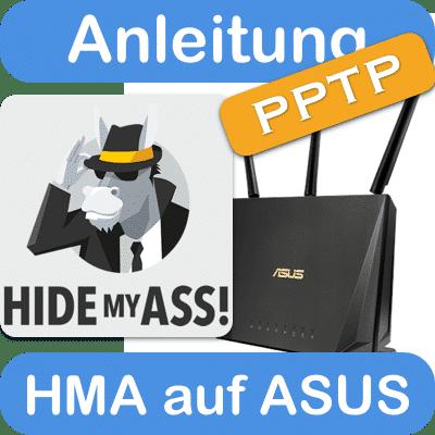 Anleitung HideMyAss auf einem ASUS Router mit PPTP