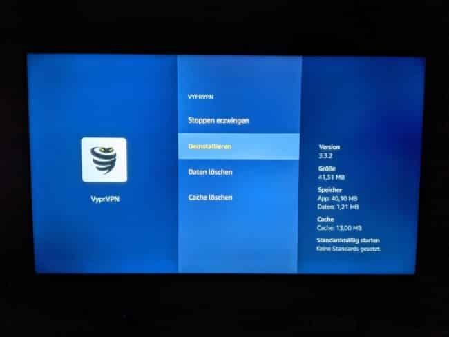 VyprVPN mit FireTV - Keine Verbindung möglich. Update! 1