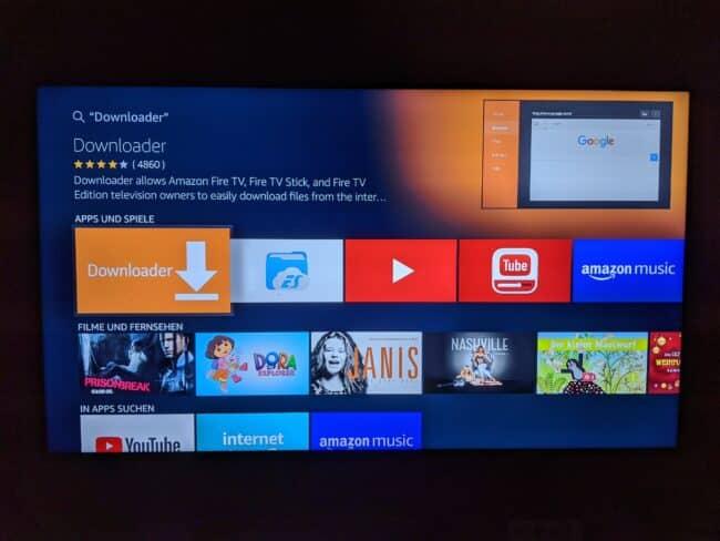 Anleitung: VyprVPN App (Neue Version) bereits auf FireTV installieren 4