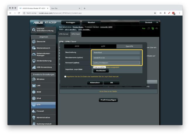 Anleitung: IvacyVPN mit OpenVPN auf ASUS Router einrichten 5
