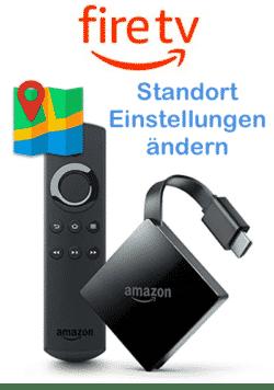 Amazon FireTV Länder Einstellungen ändern