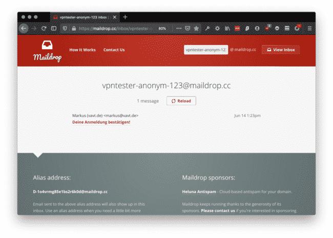 Maildrop: Temporäre EMail Adresse einrichten & Spam entgehen! 6