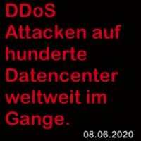 News: DDos Attacken 08.06.2020